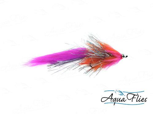 Orange/Pink Hareball Leech