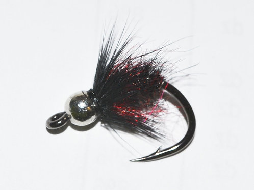 TDF Bead Head Black Bug