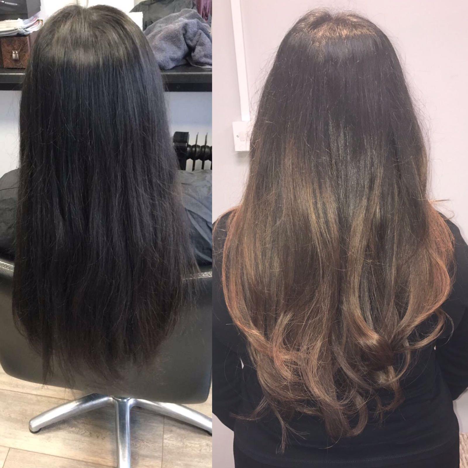 Hair Transformation