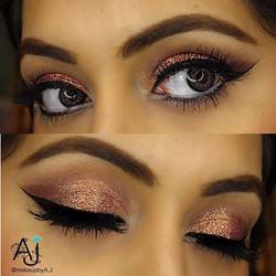 Eye make up by Anna