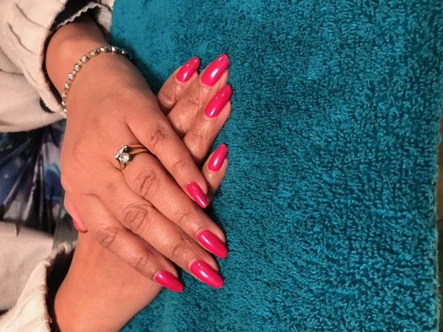 Full manicure with gel polish
