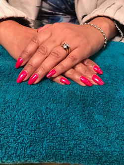 Full manicure with gel polish