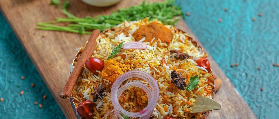 Mughlai Dum Gosht Biryani ( Mutton ) ( Chef's & E.I.B Special )