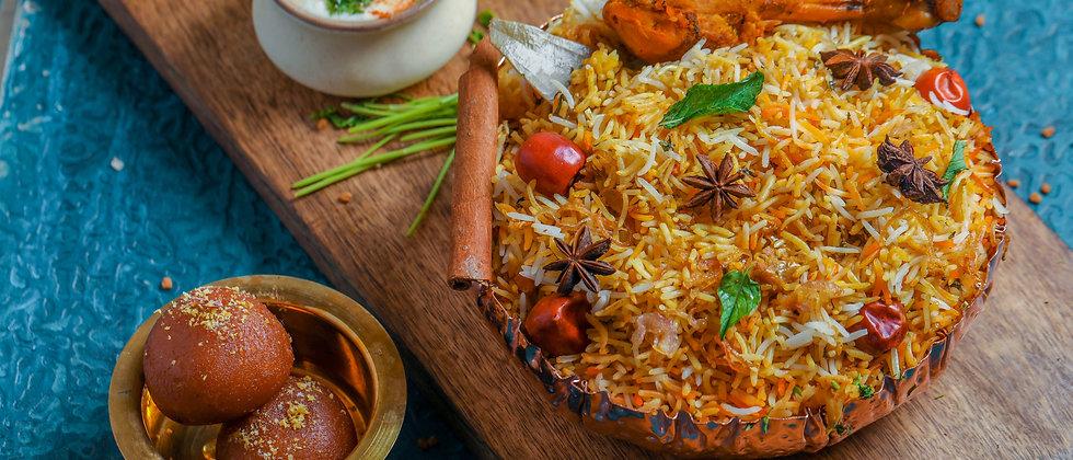 Diwan-e-Dum Murgh Mughlai Biryani