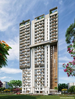 Avisha Project ( 2&3 BHK Flats )  by Nandivardhan Group