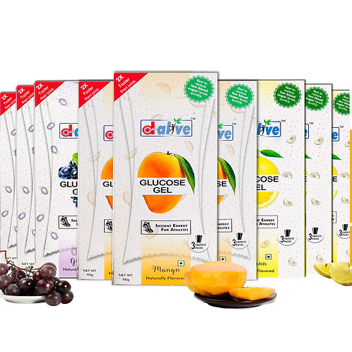 Glucose gel pack of 9