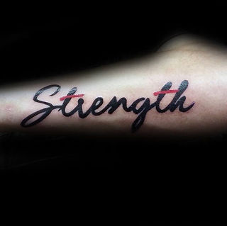 black-and-red-ink-strength-outer-forearm
