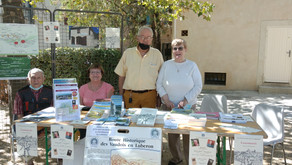 Fête des associations à Lourmarin - L'AEVHL y était !