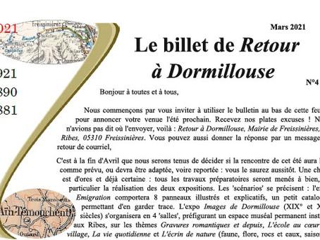 Retour à  Dormillouse - Été 2021