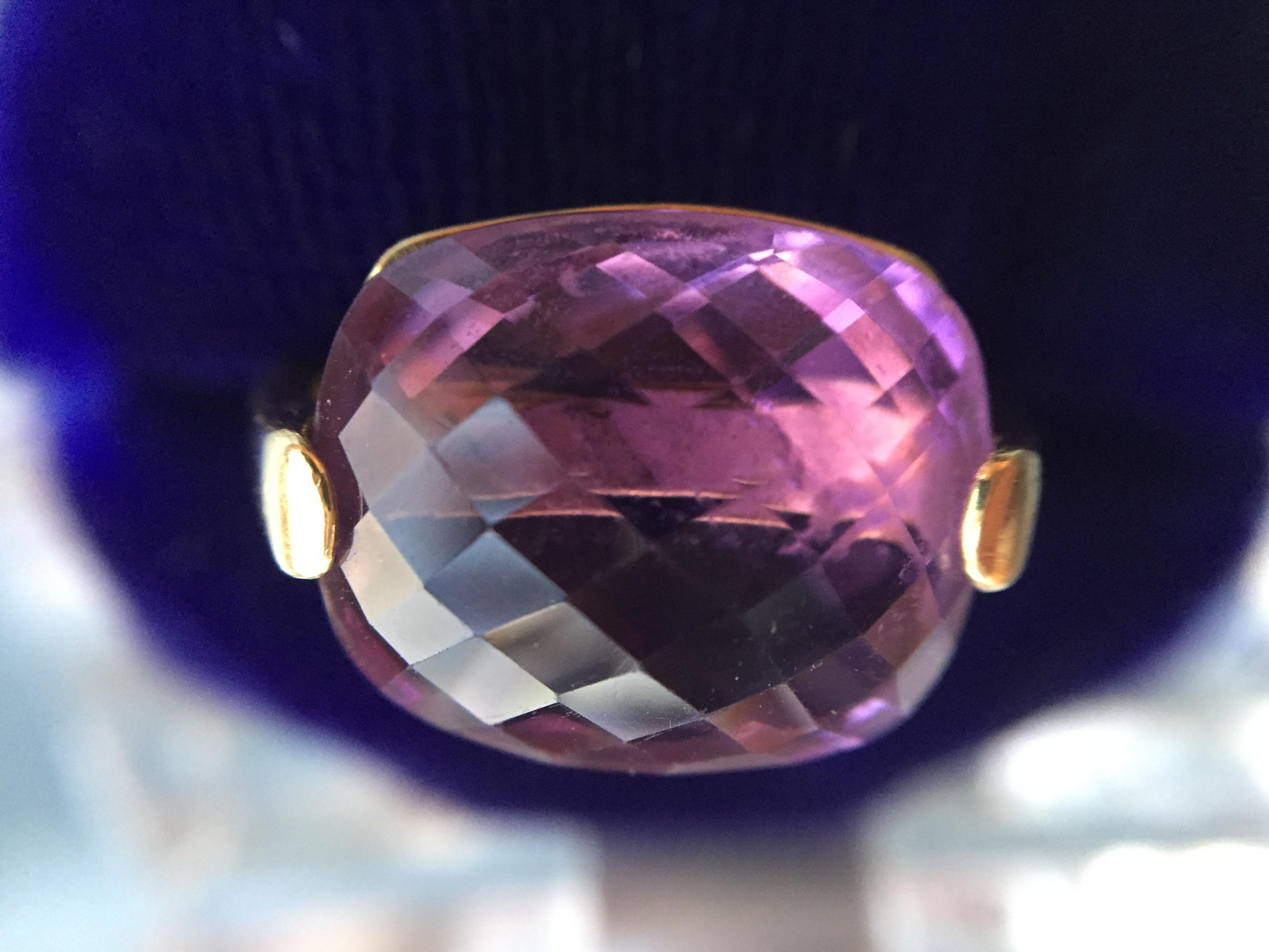 Amethyst ring  650€