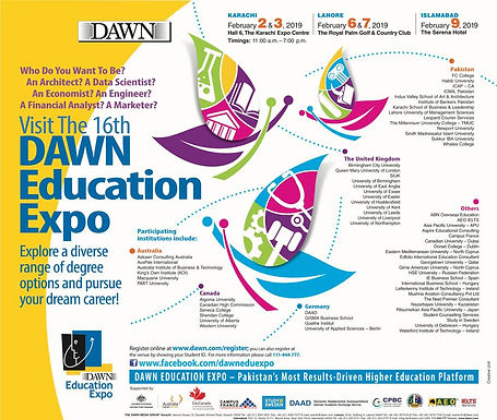 Dawn Education Expo Lahore