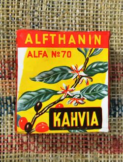 ALFA kahvipaketti
