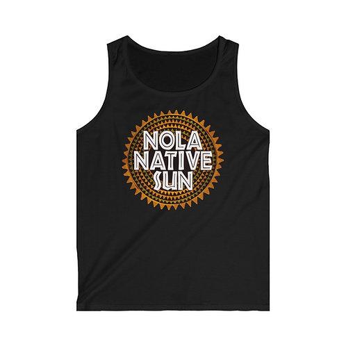Nola Native Sun - Men's Softstyle Tank Top