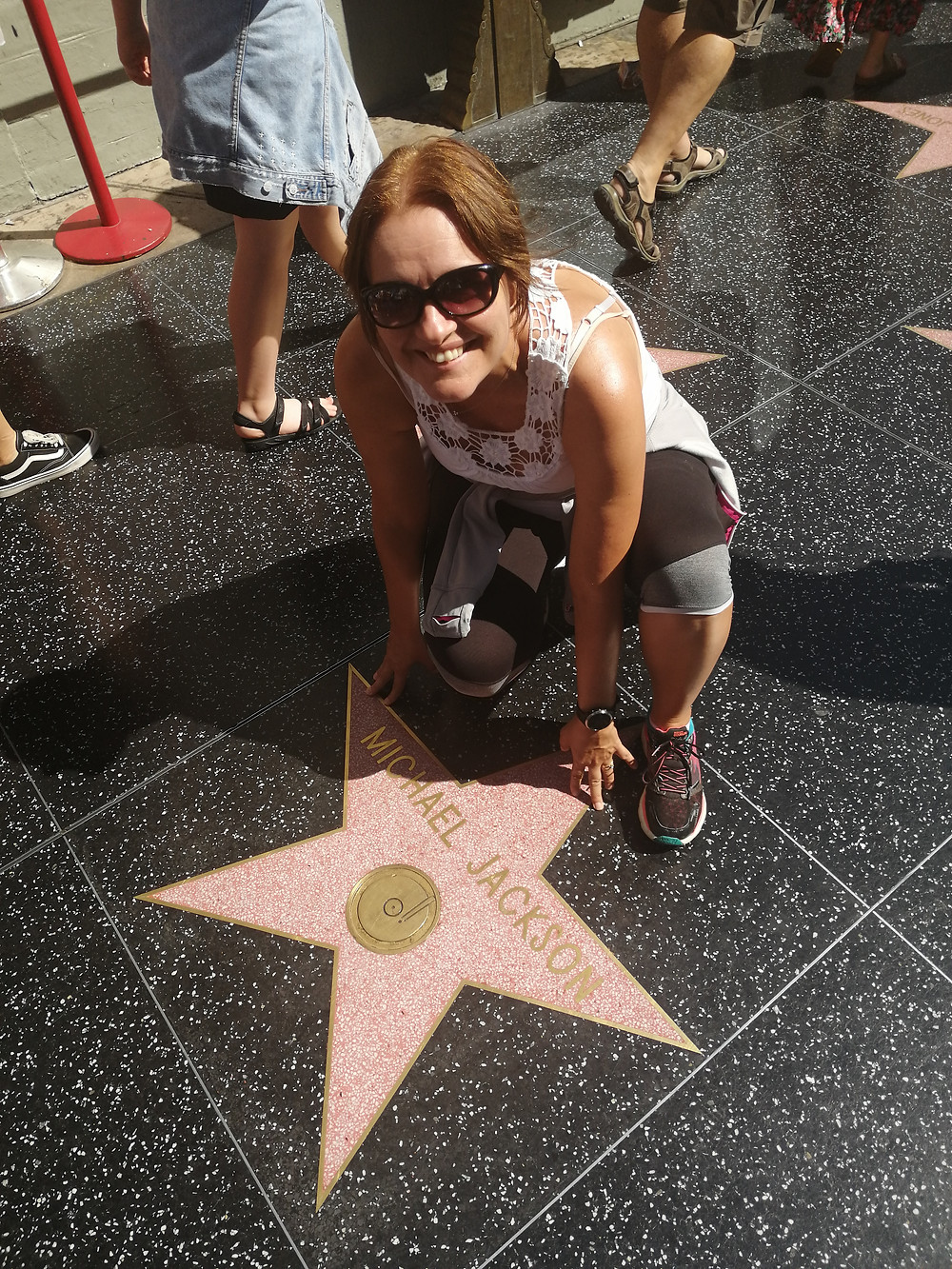 Sally aand Michael Jackson