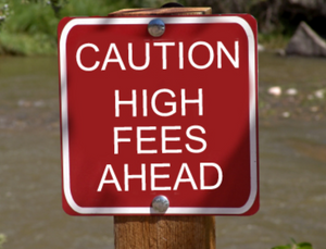 Beware of investments with high fees
