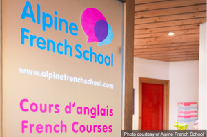 Early retirement learning with Alpine French School