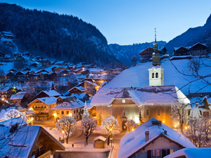 Morzine in the French Alps