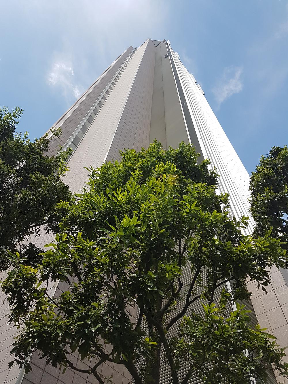 Tall building in Hong Kong