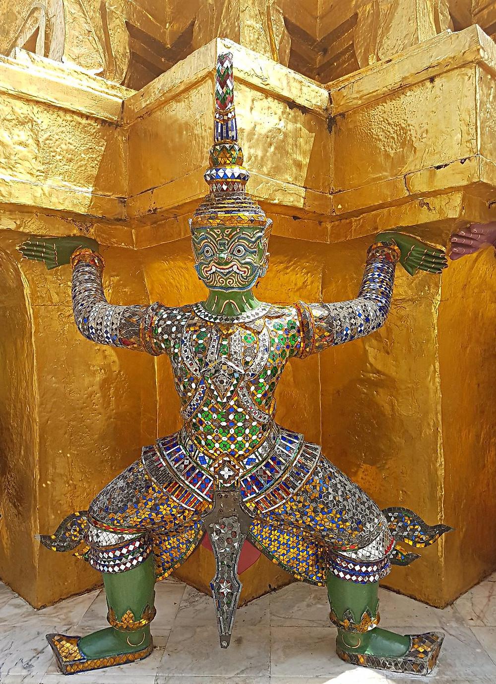 Inside the Grand Palace, Bangkok