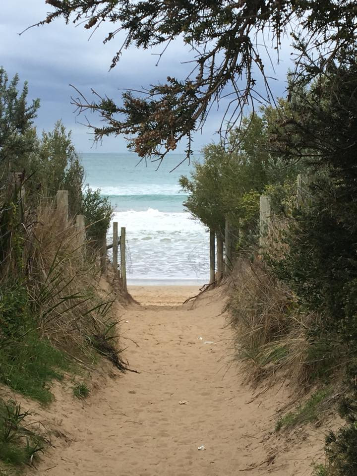 Passage to a Great Ocean Road Beach