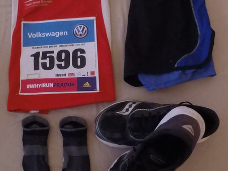 Prague Marathon - May 2017