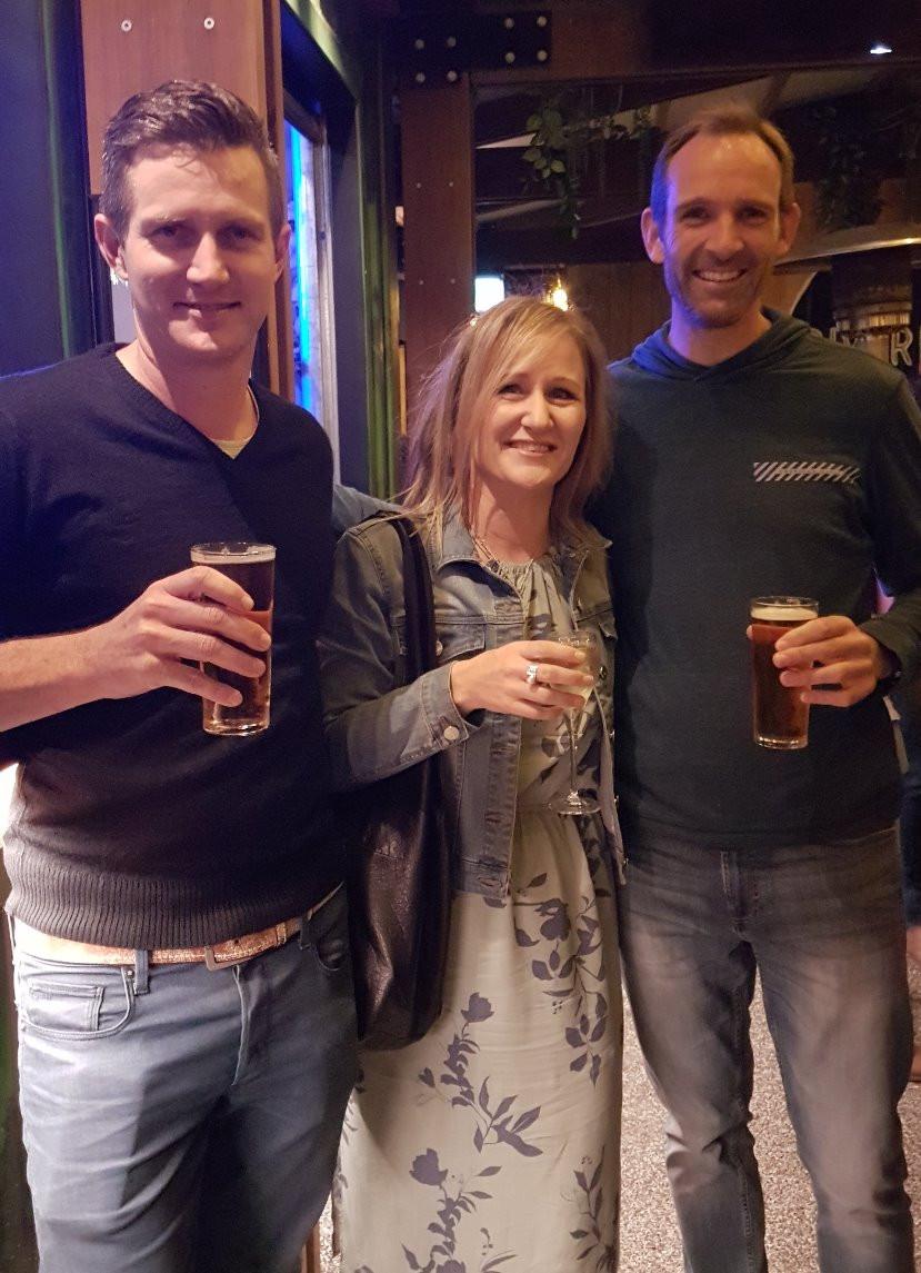 With superhosts, Letitia & David in Brisbane