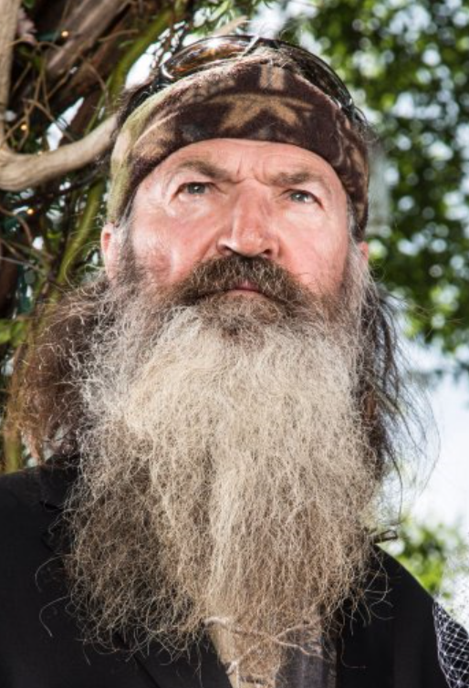 Phil Robertson from Duck Dynasty, not the guy I was talking to