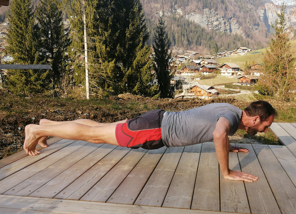 Why are press-ups so difficult, erm, weedy arms!