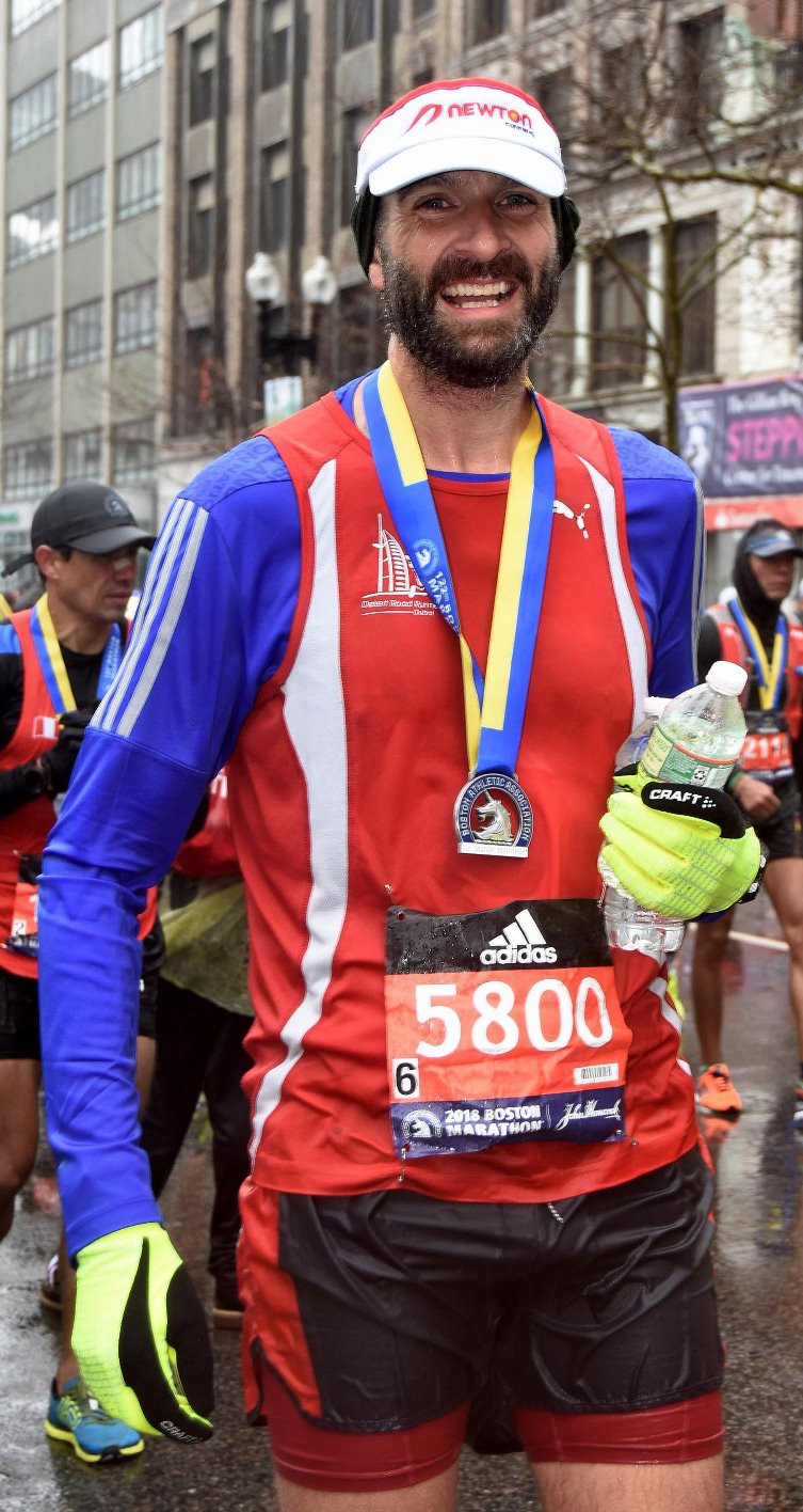 Finishing Boston Marathon 2018