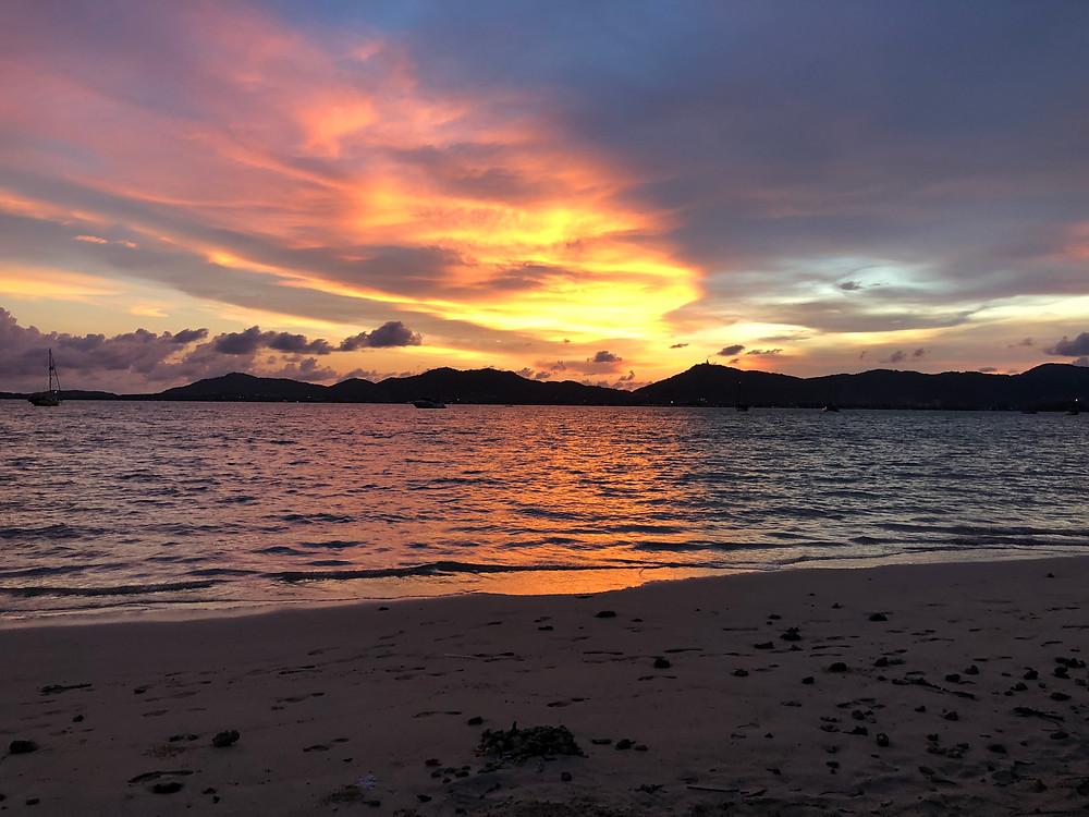 Sunset in Phuket, Thailand
