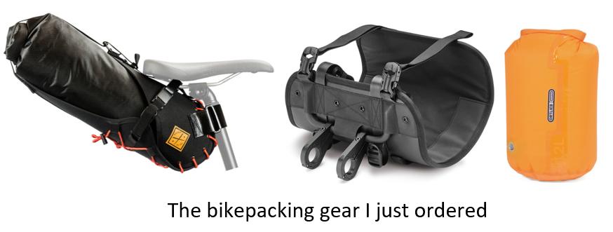 Bikepacking gear