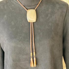 Bolo Tie Necklace