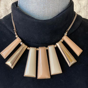 Simple Gold and Flare Necklace