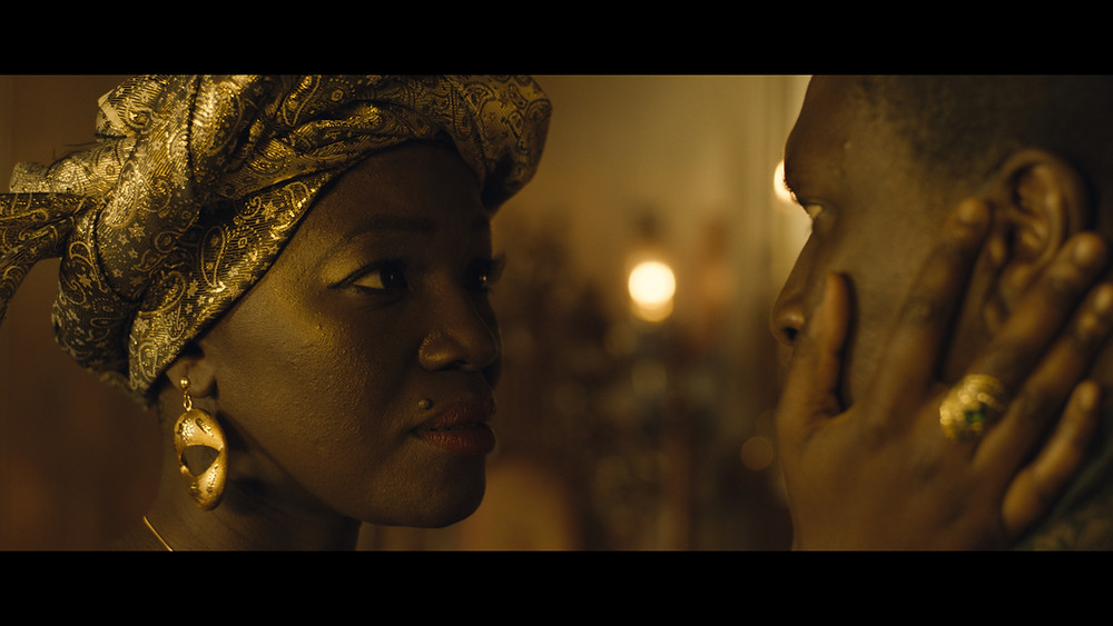 Constance Ejuma and Adetokumbo M'Cormack in 'The German King'