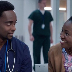 Constance Ejuma & Edi Gathegi in 'Proof'