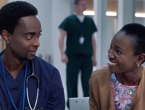 Constance Ejuma & Edi Gathegi in 'Proof'