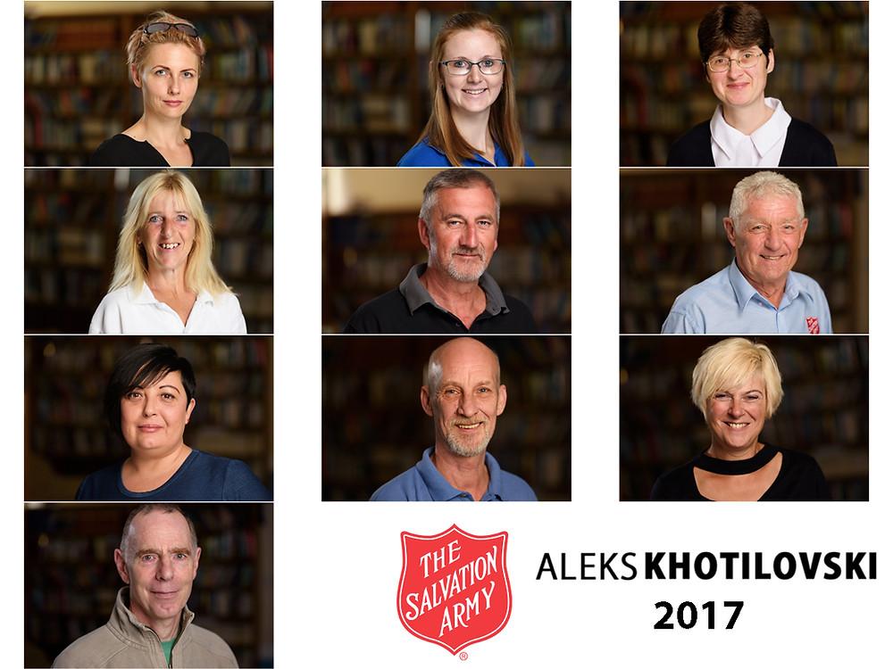 Salvation Army Stuff Headshot by Aleks Khotilovski