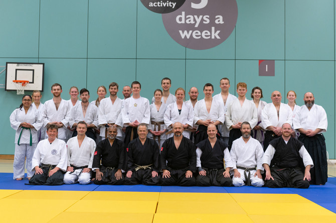 40th Plymouth University Jiu Jitsu Club Anniversary Traning and Celebration