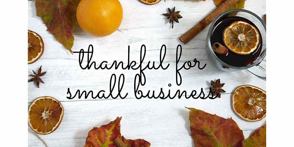 Thankful For Small Business Networking: FREE!!!