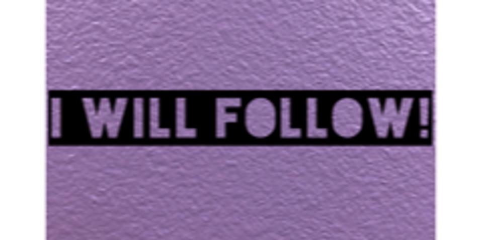 Let's Follow Each Other On Social Media