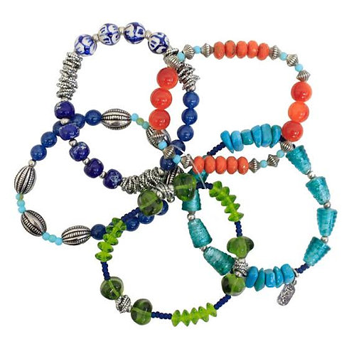 Treska's Festival Collection 5-Strand Beaded Bracelet