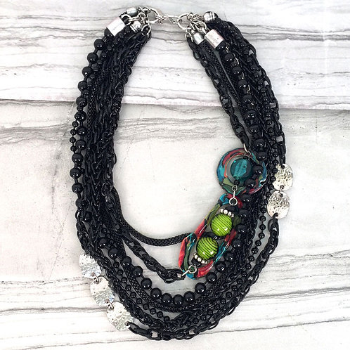 Gallery Collection Short Multi-strand Necklace by Treska