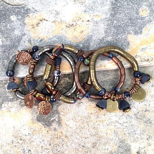 Uluru 5-Strand Stretch Bracelet by Treska