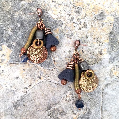 Uluru Multi-Dangles Earrings by Treska