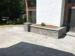 Granite Flower Bed