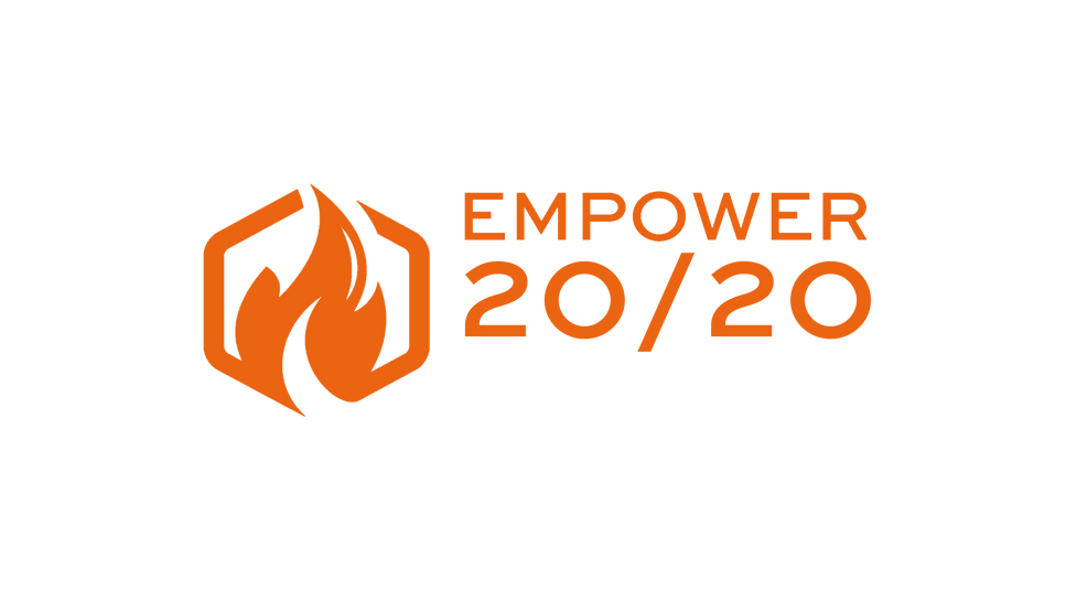 Empower 20-20 Logo Compact with Tagline.