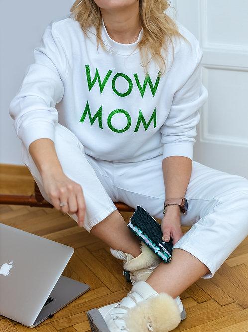 Bluza WoW MoM Glitter Verde