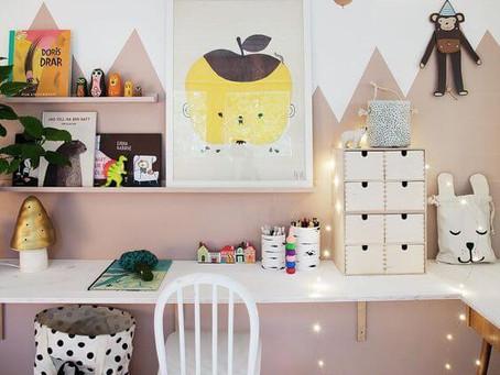 6 trucuri și idei de birouri pentru copii care sa-i inspire…la teme