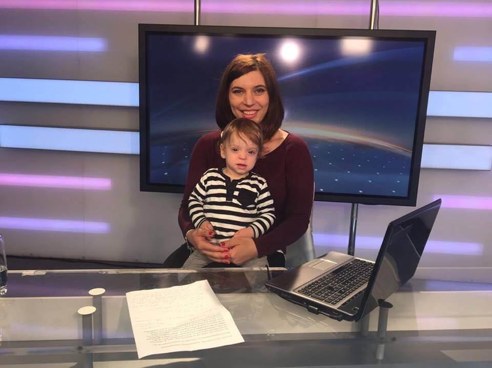 Larisa Popa, prezentatoare TV, despre viața la pupitrul știrilor și ''meseria'' de mamă