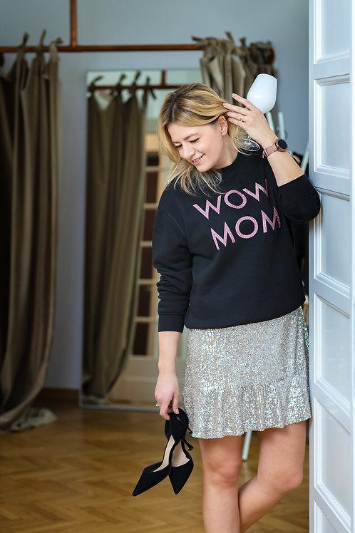 Bluza WoW MoM® Glitter Roz